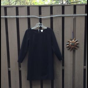 🎃List J Crew Stretchy Black Dress